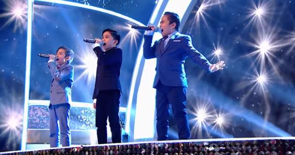 感動が止まらない!フィリピンの子供3人の歌声に世界が震撼!