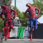 世界中で大流行!スパイダーマンとデッドプールが超絶ダンスが話題