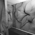 使っているのはテープだけ!錯視で空間を歪めるアーティストの制作風景がスゴい