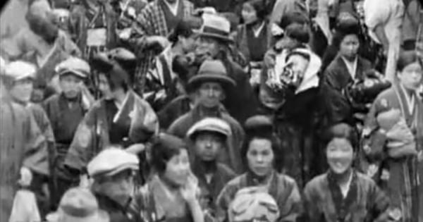 約90年前の京都の鮮明な音声付き動画が公開!まるでタイムリップした気分に!