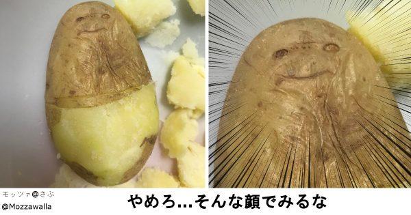 台所で探してみよう、ニッコリ顔の野菜!食べ物と目が合った光景 9選