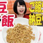 【大食い】女の子がただご飯を食べるだけのお話 ~納豆丼編~
