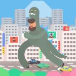 外国人アニメーターが体感した30日間の東京滞在を描いた30種類のアニメが面白い!