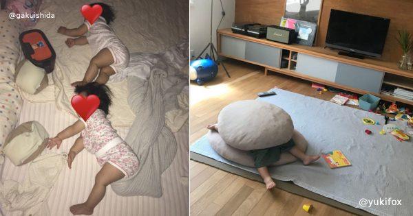 天使かよ…。癒されまくる子どもの寝姿選手権 8選
