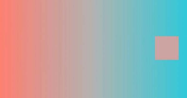 色が変化しているように見える四角、実は何も変わっていない!何度も見返してしまう驚異の錯視