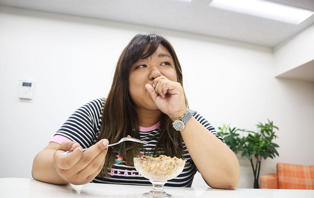 ぴんく納豆
