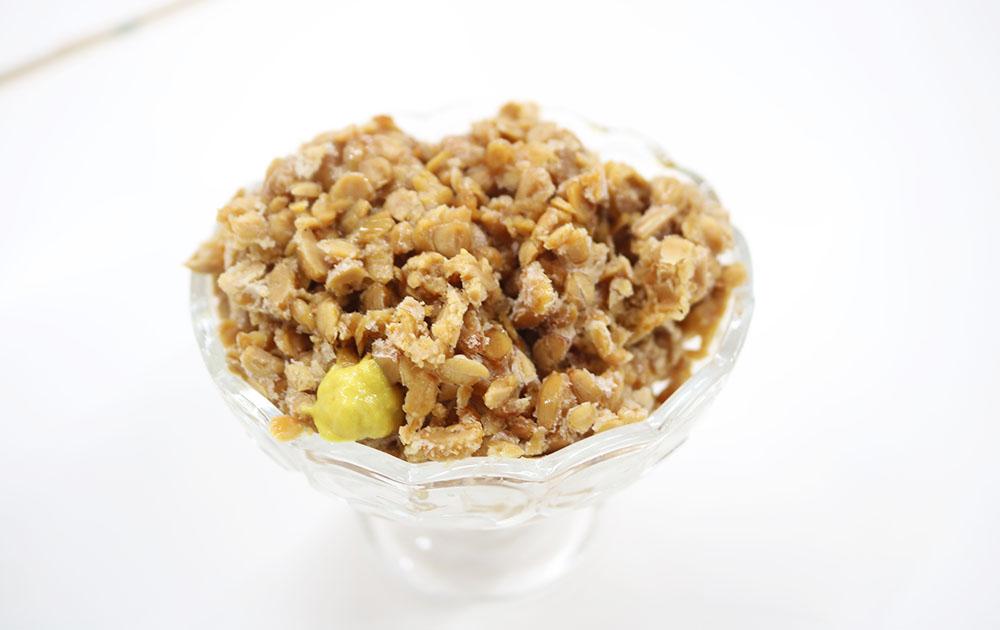 納豆かき氷
