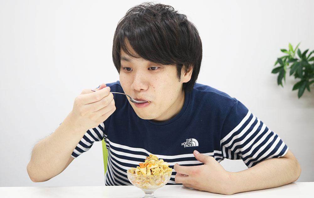 カレーかき氷試食2j