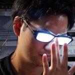 メガネキャラが悪だくみしてるときの「光るメガネ」を作ってみた