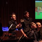 アニメ「トムとジェリー」に生演奏で音をつける!ユニークな演出に会場は大盛り上がり