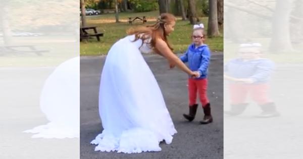 「あ、シンデレラだ!」花嫁を勘違いした少女。夢を守った花嫁の対応が素晴らしい