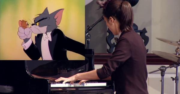 トムとジェリー「ピアノ・コンサート」を完全再現!16歳のピアニストに称賛の嵐