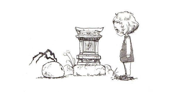 Twitterで大反響!小さなもののけと少女の絆に感動の声が止まらない!