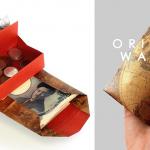 A3の紙1枚で誰でも作れる「折るだけお財布」が話題!お札・小銭・カードが別収納の高機能
