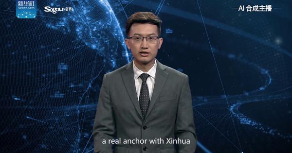 ニュースを読む姿がリアルすぎる!世界初の『AIニュースキャスター』が中国で誕生