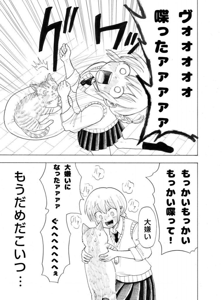 猫とお姉ちゃんの漫画03