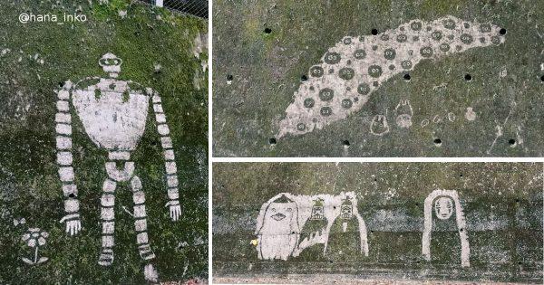 ジブリの苔アート