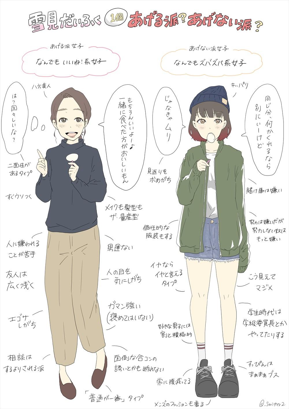 雪見だいふく 女子_R