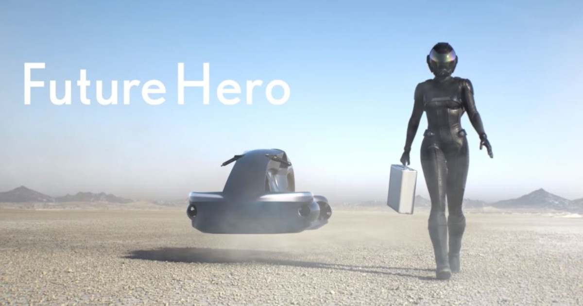 いよいよ空飛ぶバイクが現実になる!映像からあふれる未来感が尋常じゃない