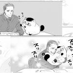 おじさまと猫番外編(6作品)。ふくまるとの何気ない日常が幸せそう