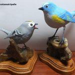 半身麻痺の父がリハビリで作った木彫りの鳥がすごすぎる…!