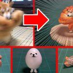 話題の「右フック犬」も…。ネットの画像を次々フィギュア化するクリエイターが面白い