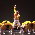 キレッキレのフレディ軍団!登美丘高校ダンス部の新作はクイーンの名曲メドレー