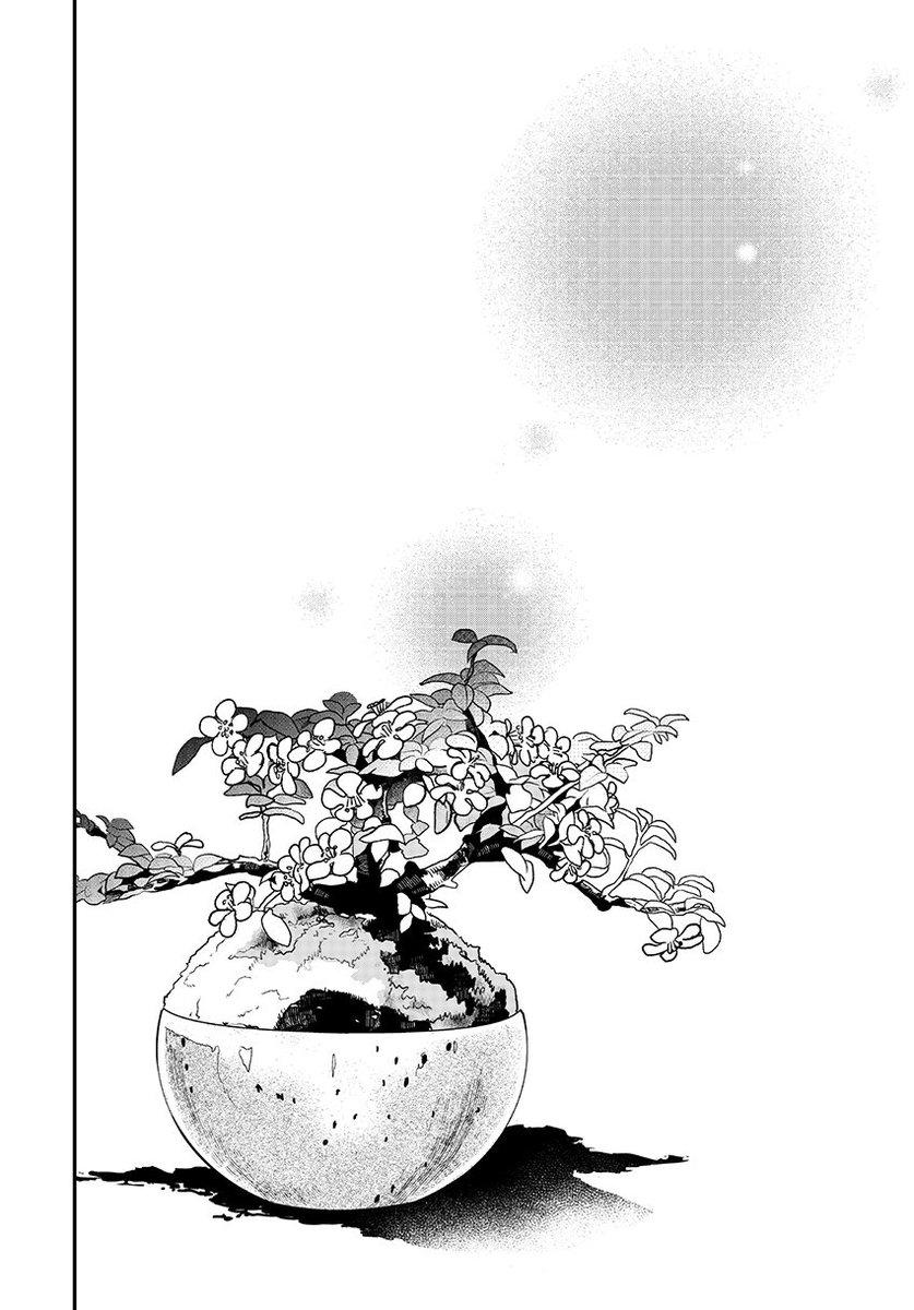 盆栽の世話をする男子高生と女子高生の話26