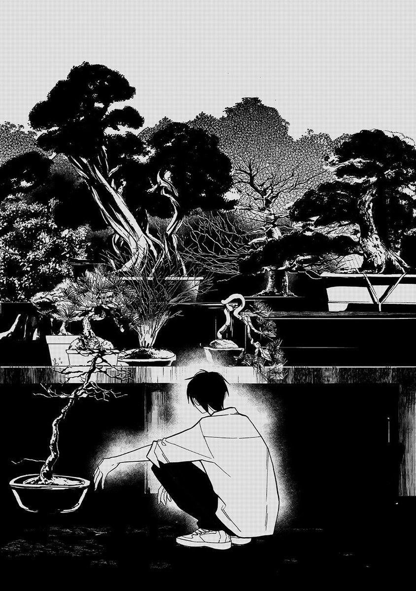 盆栽の世話をする男子高生と女子高生の話21