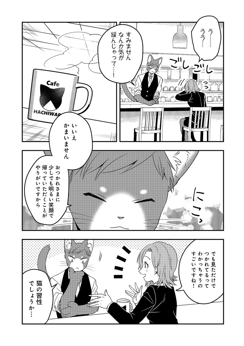 お疲れ様だけが辿り着ける幻の猫カフェ12