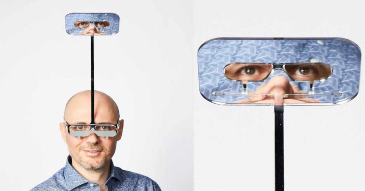 「高身長を味わえるメガネ」が開発されたよ!こういうのマジすき