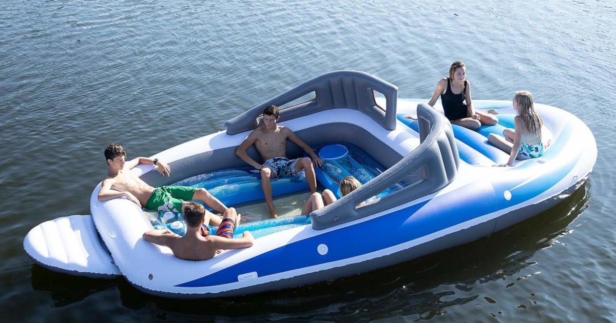 1人6,000円で買える「クルーザー風ゴムボート」が最高にクール