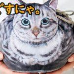 【めっちゃ猫】この巾着袋、モフモフでたまらん…