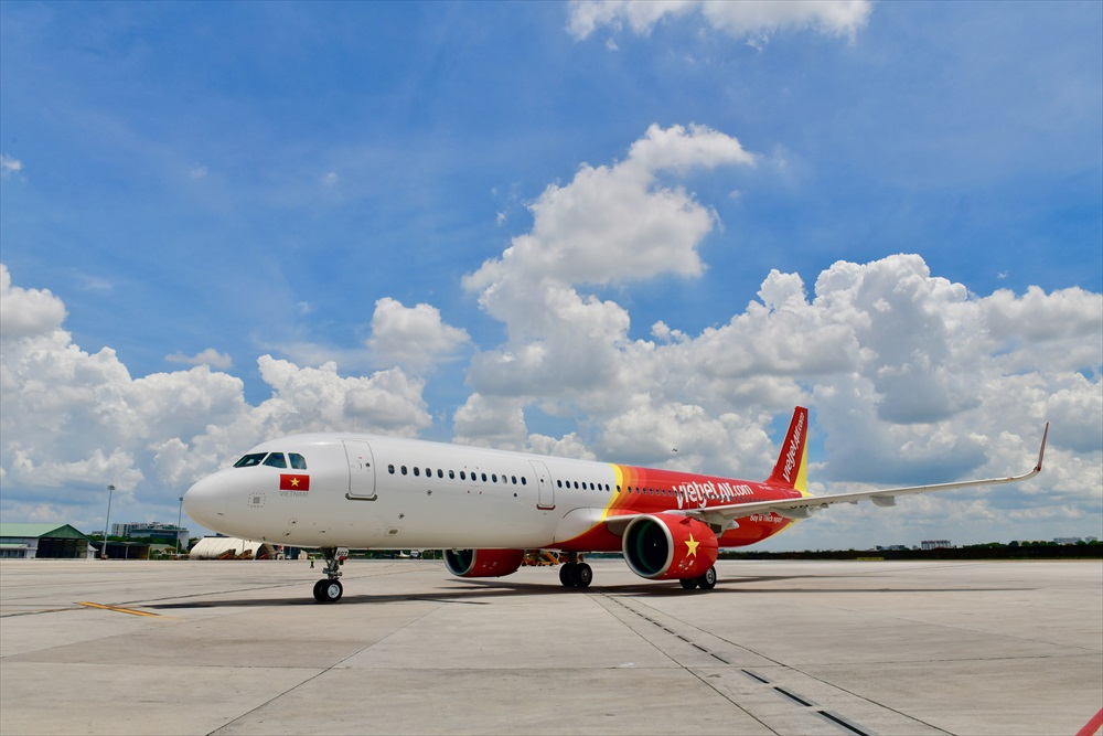 Vietjet's new and modern aircraft_R