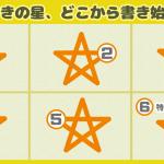 【心理テスト】どこからスタートする?星の書き順でわかる「あなたのオタクタイプ」
