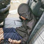 警察「雰囲気出てるね」パトカーに試乗した息子の姿に爆笑