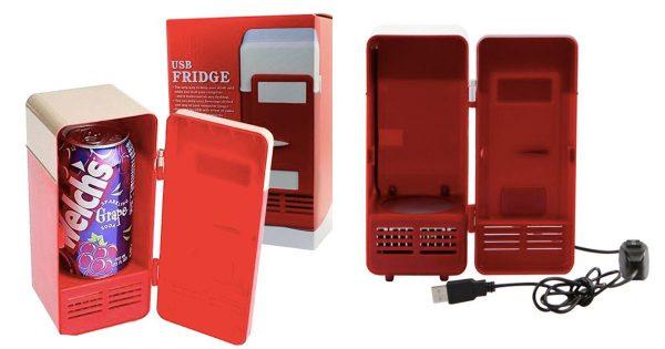 暑い職場の強い味方「USBミニ冷蔵庫」が有能すぎる