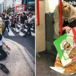 渋谷で酔いつぶれた人を載せていくインスタが毎度ほんとに面白い