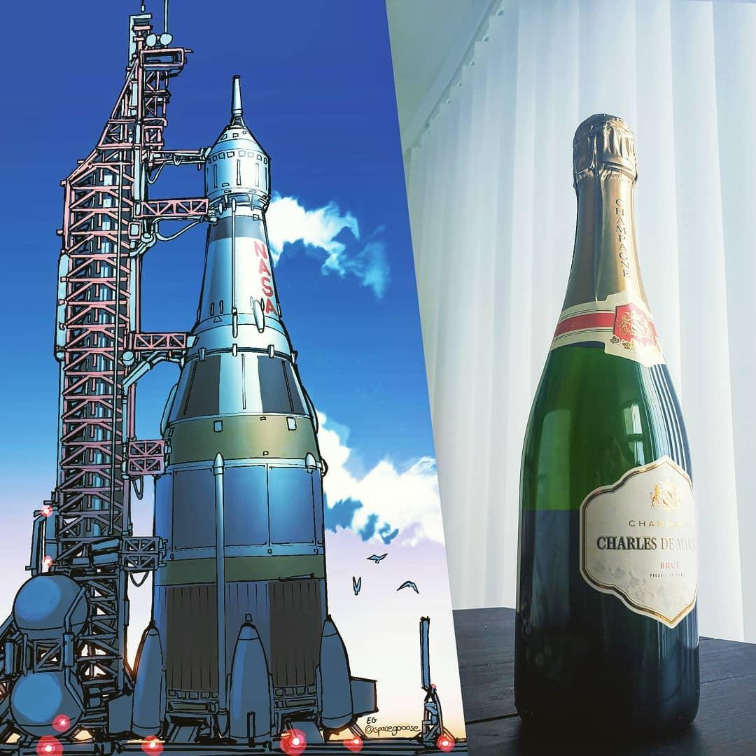 ボトルが宇宙船になったら