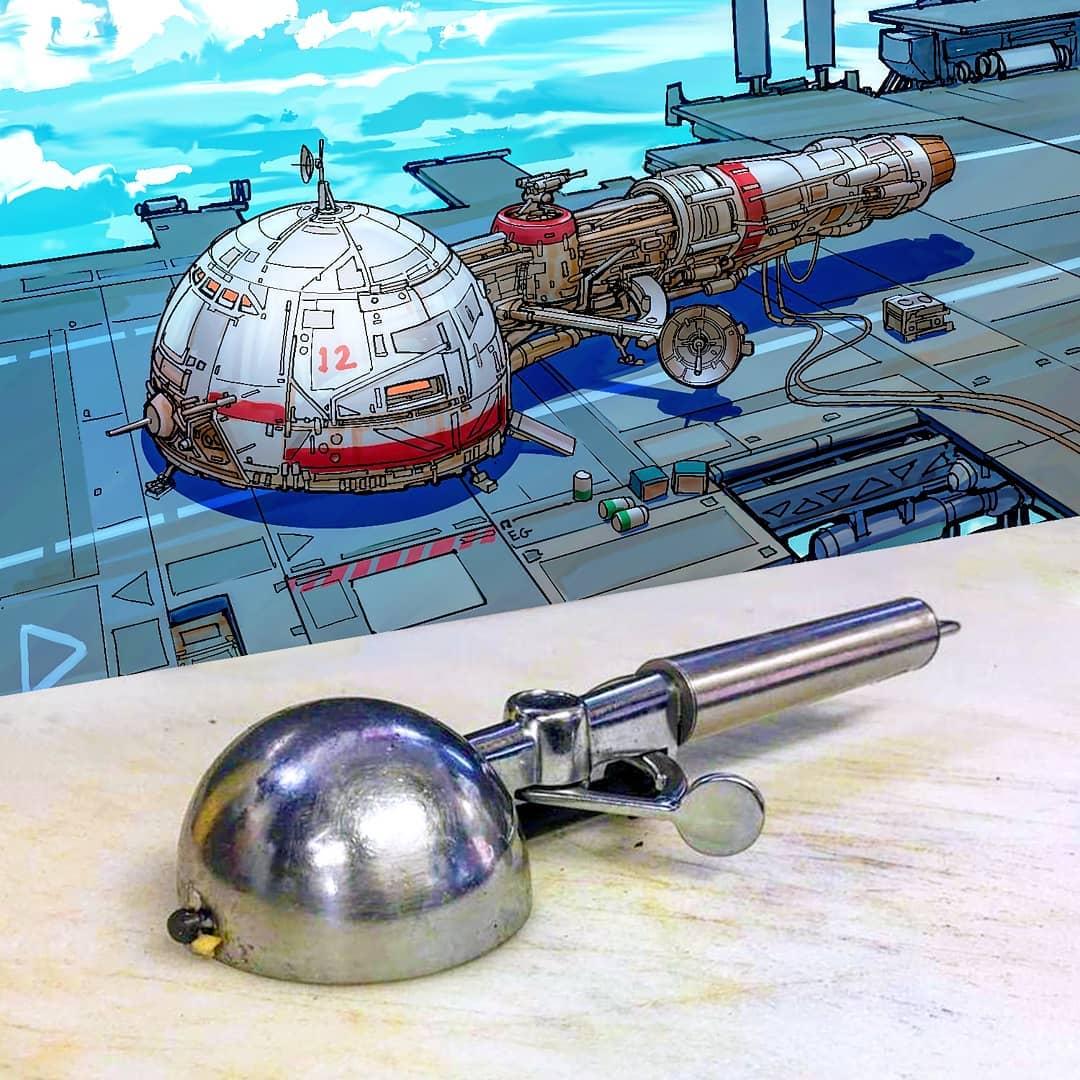 ディッシャーが宇宙船になったら