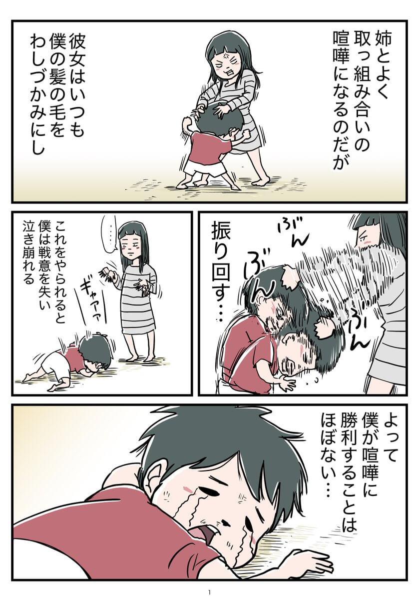姉とのケンカのお話01