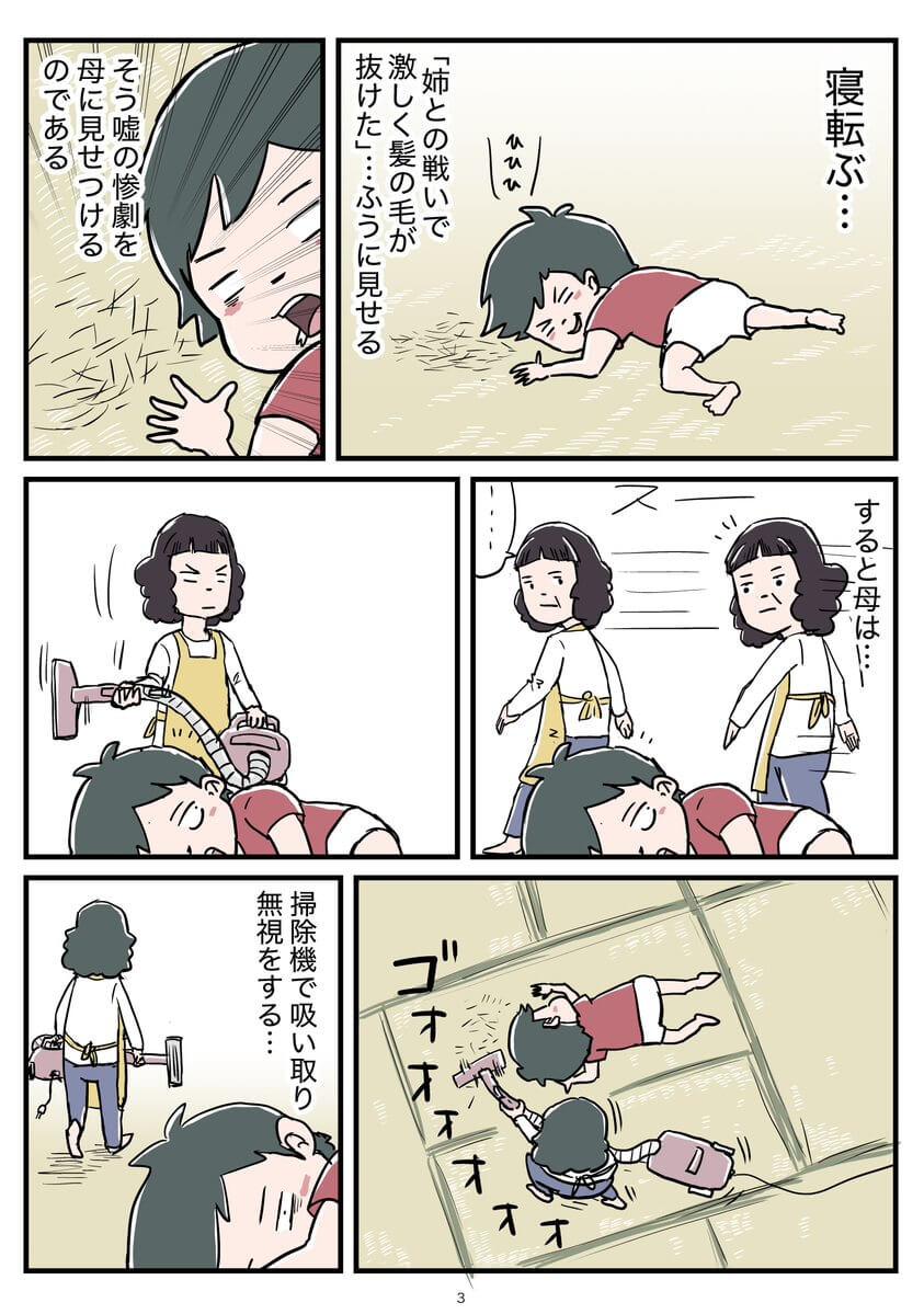 姉とのケンカのお話03