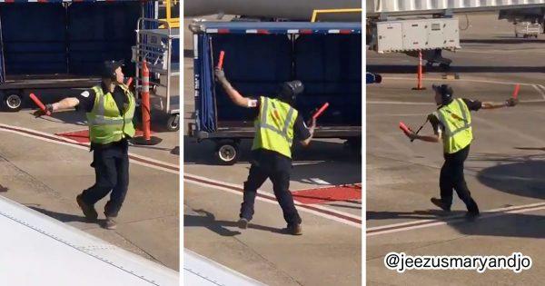 仕事が楽しいってこういうことか!空港スタッフの「ノリノリダンス」に幸せもらった