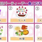 【心理テスト】友達の誕生日にあなたが一番こだわったのはどれ?