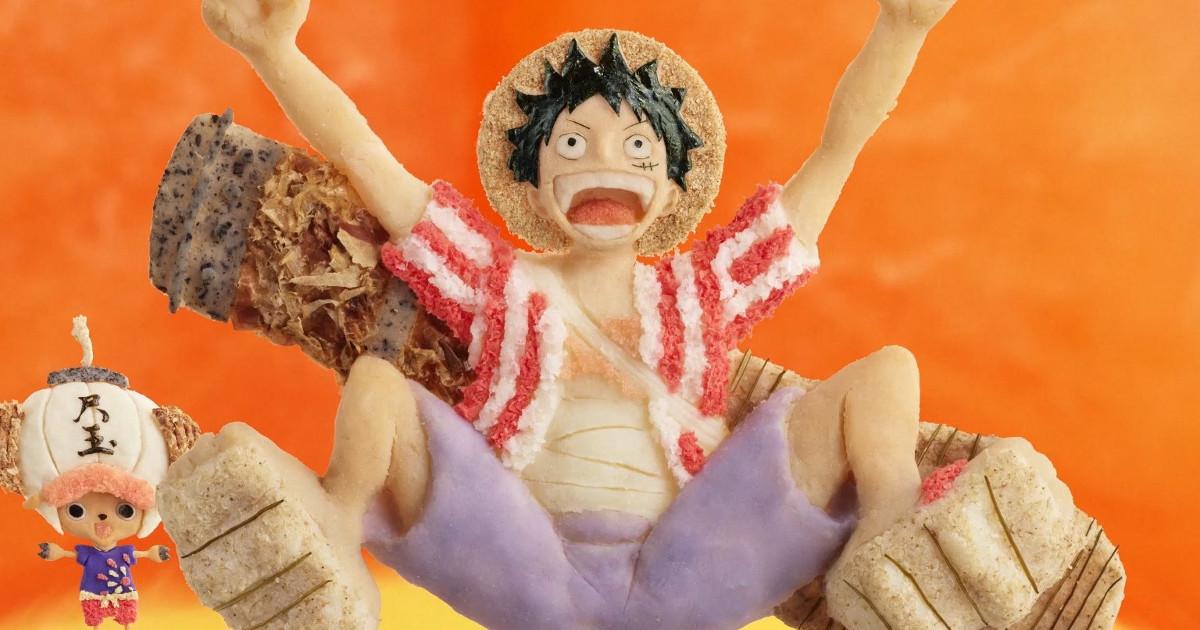 「丸亀のうどんは生きている!!」丸亀製麺×ONE PIECE!うどんで作った「ウドンピード」がスゴイ