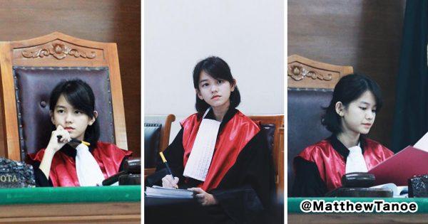 美しすぎる裁判官?拡散された写真にネット民興奮