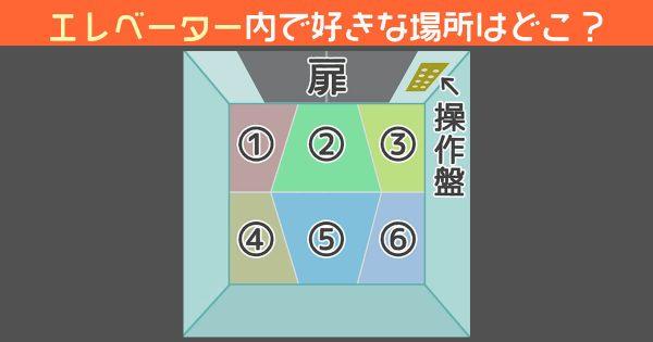 【心理テスト】あなたのエレベーターでの立ち位置に見る「理想の恋人関係」