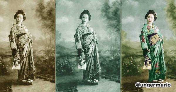 昔の写真を復元する技術が「ほぼ魔法」な件...