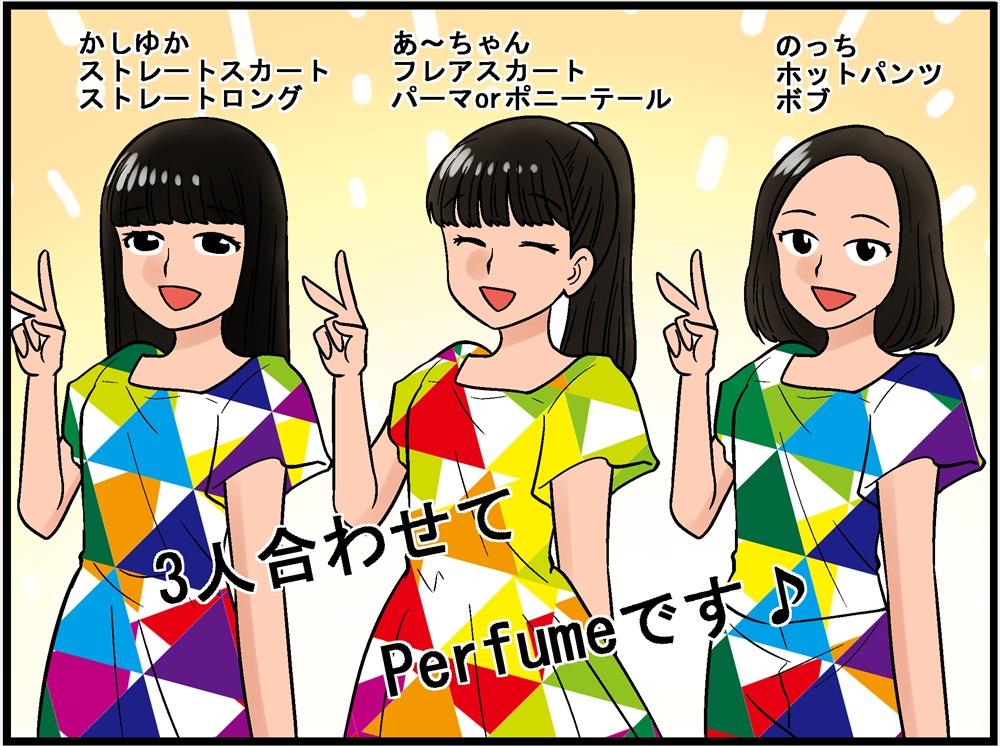 Perfume自己紹介