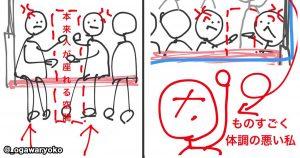 女性は、電車での「サラリーマンの喧嘩」を2秒で止めた
